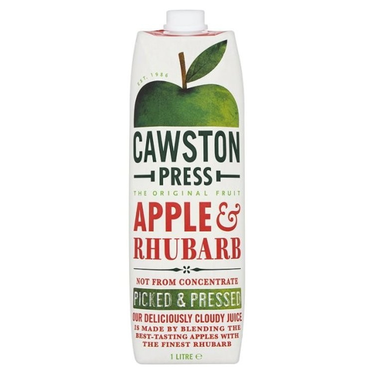 Cawston press apple rhubarb 2675