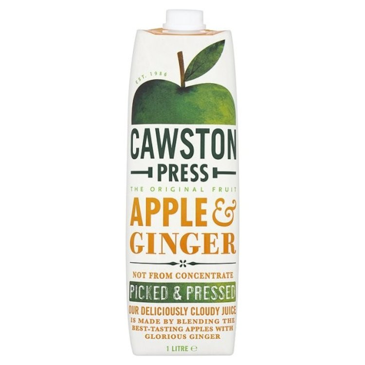 Cawston press apple and ginger 1 litre 2671