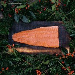 Tail Fillet Scottish Smoked Salmon 450g