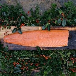 Whole Side Scottish Smoked Salmon 1.2kg