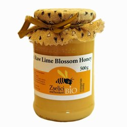 Organic Raw Hungarian Lime Blossom Honey 500g