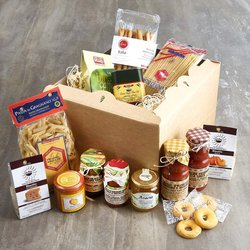 'College Starter' Student Food Gift Hamper Inc. Italian Coffee, Pasta, Sauces & Jam