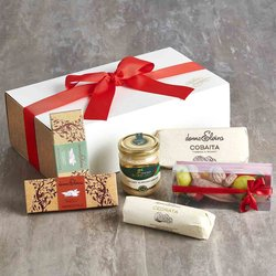 'Dolce Sicilia' Sweet Sicilian Treat Gift Hamper Inc. Marzipan Fruits & Modican Chocolate
