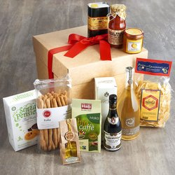 Housewarming Italian Gift Hamper Inc. Prosecco, Coffee, Marmalade & Chocolate