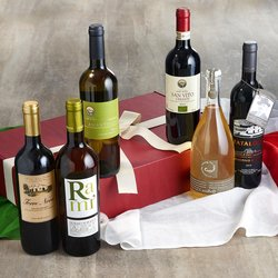 Organic Italian Wine Selection Gift Box