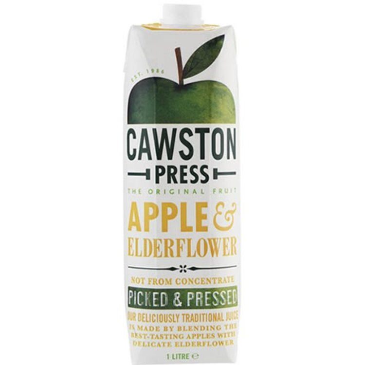 Apple and elderflower juice 1 litre 2534