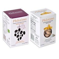 Premium Greek Pistachio & Organic Black Raisin Set 2 x 200g