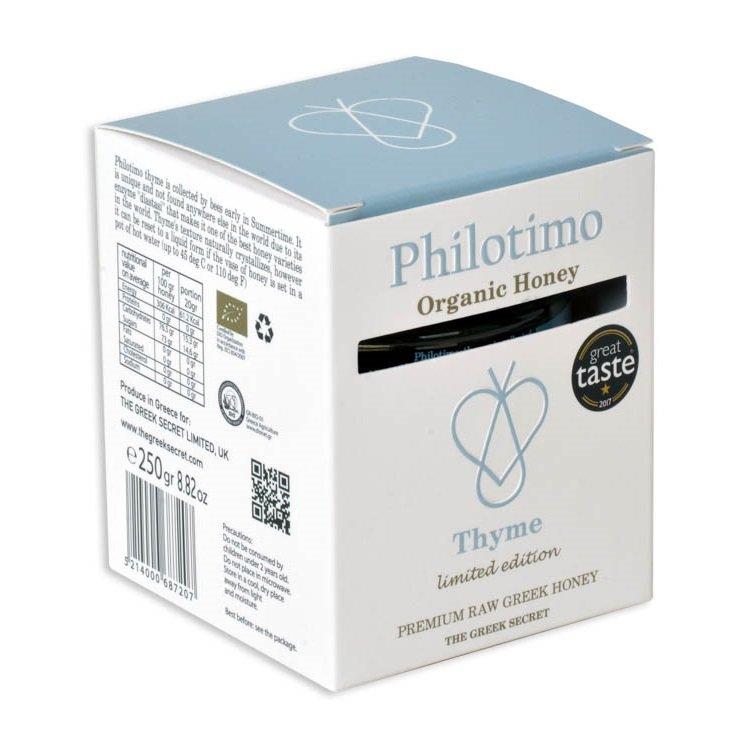 250g Greek Thyme Organic Honey Premium Limited Edition (Raw)