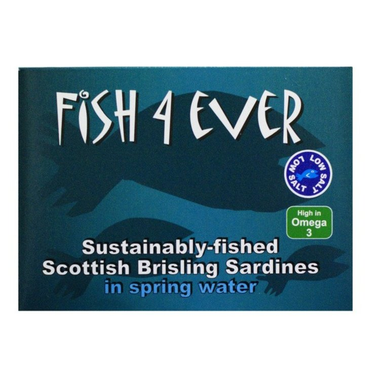Fish 4 ever scottish brisling sardines 3491