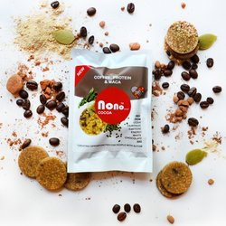 3 x 'Nono Cocoa' Green Coffee, Protein & Maca Chocolate Vegan Snack Pack (3 x 30g)
