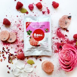3 x 'Nono Cocoa' Rose, Cherry & D-mannose Vegan Chocolate Snack Pack (3 x 30g)