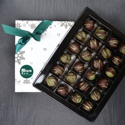 Micronutrients Marzipan Vegan Chocolate Truffle Advent Calendar