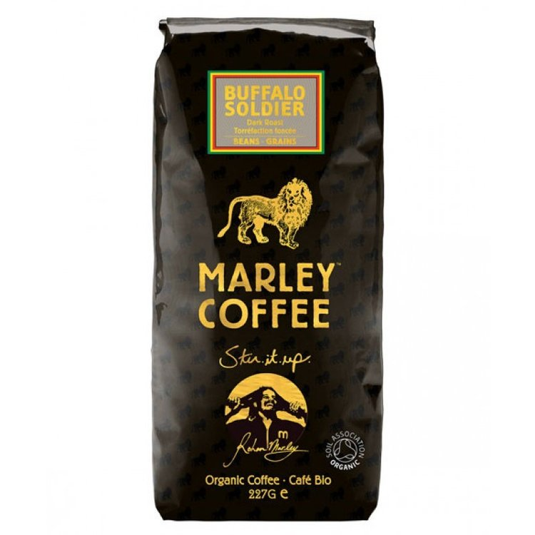 Marley buffalo soldier coffee beans 2838