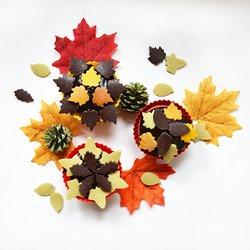 Autumn Spicy Organic Vegan Chocolate Sprinkles