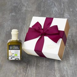 Organic Garlic, Black Pepper & Balsamic Infused Extra Virgin Olive Oil Gift Box