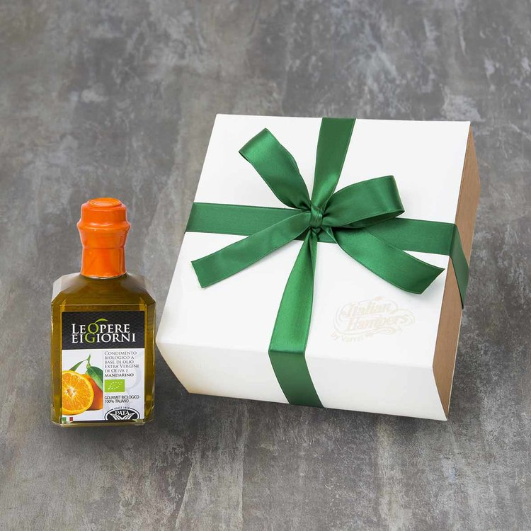 Organic Mandarin Infused Extra Virgin Olive Oil Gift Box