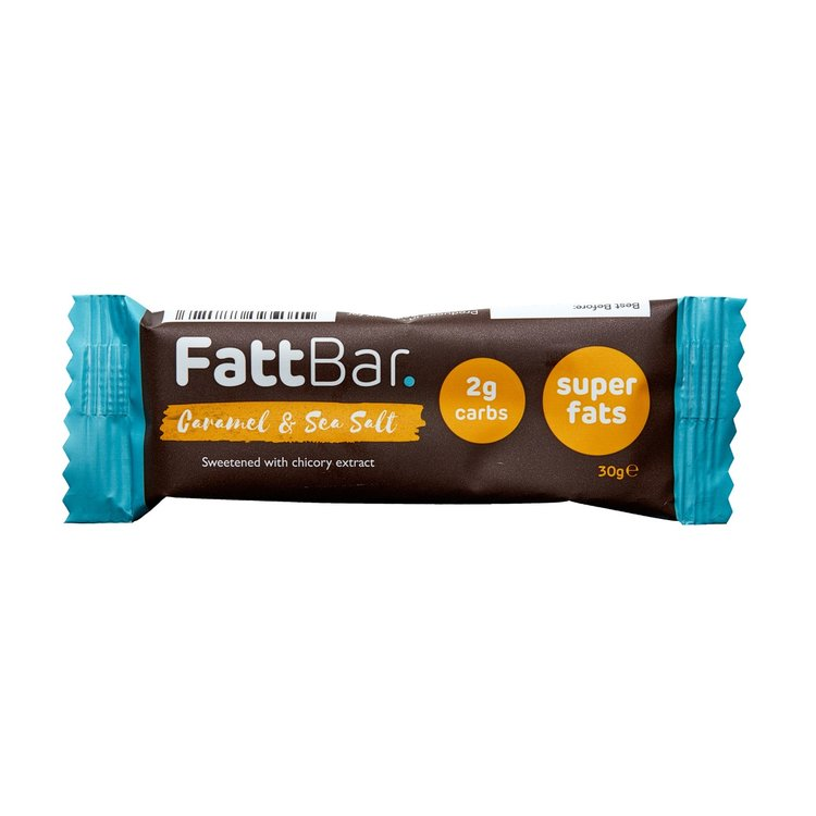 Caramel & Sea Salt Snack Bar with Chicory Extract 30g