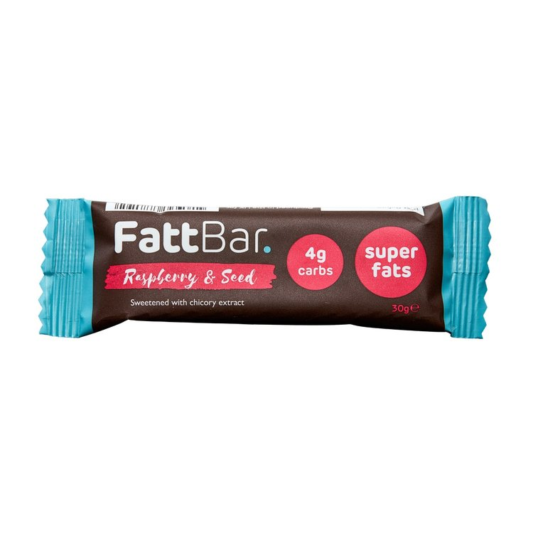 Raspberry & Seed Snack Bar with Chicory Extract 30g