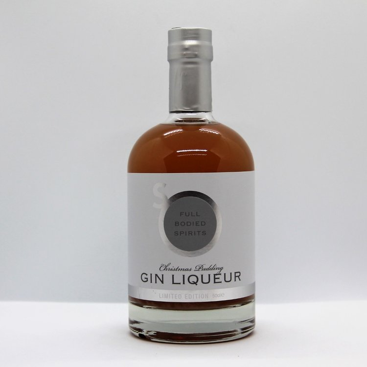 Christmas Pudding Artisan Gin Liqueur Limited Edition 50cl