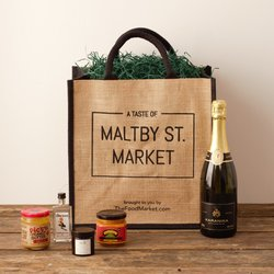 'A Taste of Maltby St. Market' - Sweet & Spicy Gourmet Limited Edition Gift Set Hamper