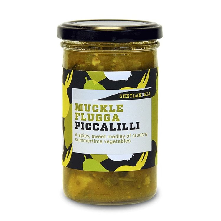 260g 'Muckle Flugga' Piccalilli (Accompaniment for Cheese, Meats & Pies)