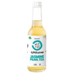 12 x Sparkling Jasmine Pearl Organic Kombucha Tea 330ml (Raw, Vegan)