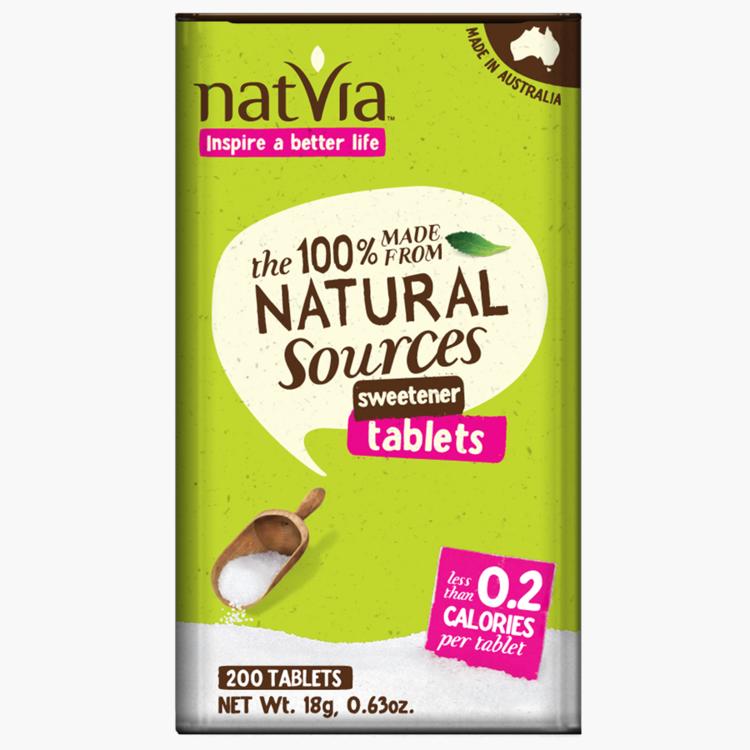 Natvia sweetener 200 tablets