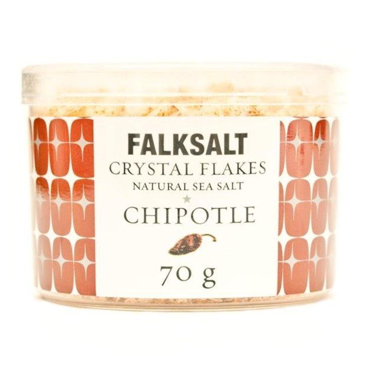 Falksalt natural chipotle sea salt crystal flakes 70g 1