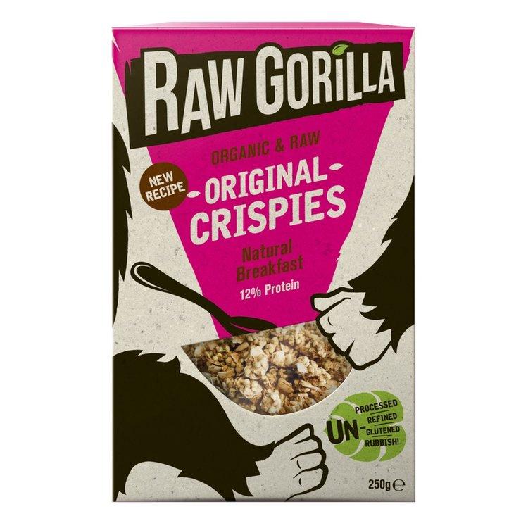 2 x Organic Original Natural Raw Breakfast Crispies 250g