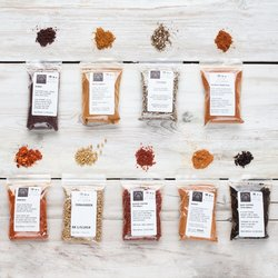 9 African & Middle Eastern Spice Collection Set Inc. Fenugreek, Sumac,  & Harissa