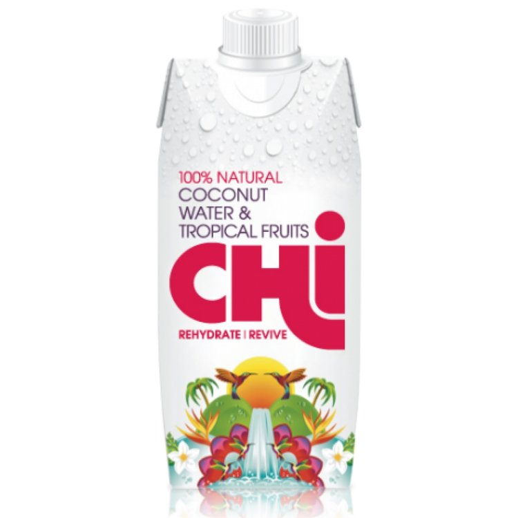 100% Natural Coconut Water & Tropical Fruits 330ml