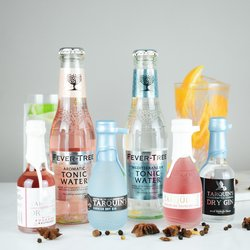 Tarquin's Cornish Gin & Tonic Gift Set Inc. Rhubarb & Raspberry Gin & Double Dutch Tonic
