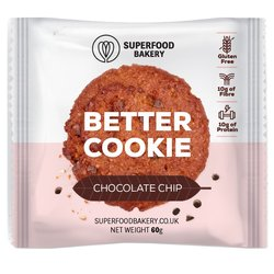 Chocolate Chip 'Better Cookie' Snack 50g (Gluten Free)