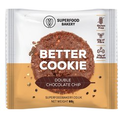 Double Chocolate Chip 'Better Cookie Snack 50g (Gluten Free)