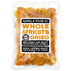 Whole Dried Apricots 400g