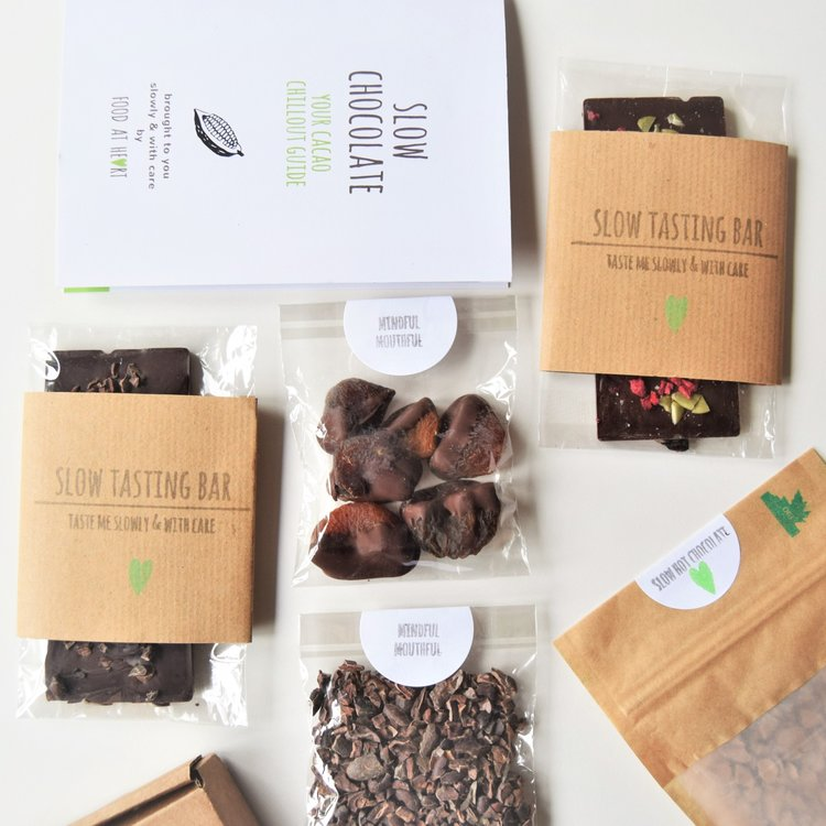 Slow Dark Chocolate Tasting Experience Gift Kit