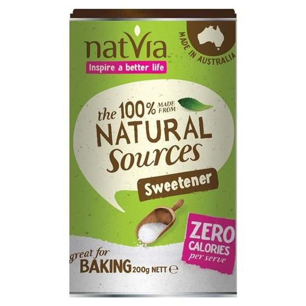 Natural Sweetener Canister 200g