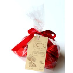 Dark Chocolate Coated Fig Bonbons Filled with Hazelnut Butter Gift Bag 250g (Vegan)
