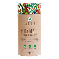 'Berry Beauty' Antioxidant Organic Superfood Blend Inc. Maca, Acai & Chia Seeds 150g
