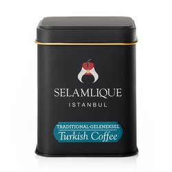 Traditional Turkish Ground Arabica Coffee in Tin 125g