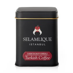 Dark Roast Turkish Ground Arabica Coffee in Tin 125g
