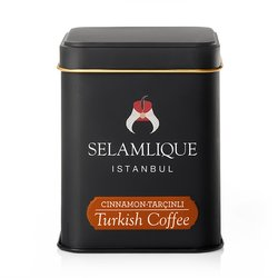 Cinnamon Turkish Ground Arabica Coffee in Tin 125g