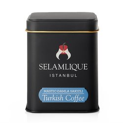 Mastic Turkish Ground Arabica Coffee in Tin 125g