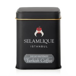Decaffeinated Turkish Ground Arabica Coffee in Tin 125g