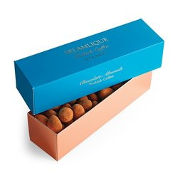 Turkish Coffee Coated Belgian Dark Chocolate Almonds 250g