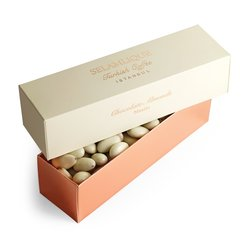 Mastic & White Chocolate Coated Almonds 250g