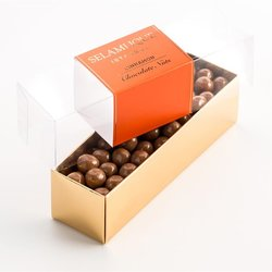 Cinnamon Chocolate Coated Turkish Hazelnuts 200g