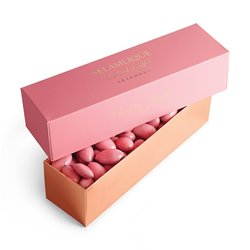Rose & White Chocolate Coated Almonds 250g