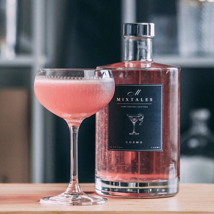 Cosmopolitan Pre-Mixed Cocktail 700ml