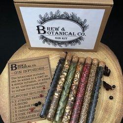 Gin Botanical Infusion Tubes Gift Set Inc. Juniper, Lemon Peel & Pink Peppercorns